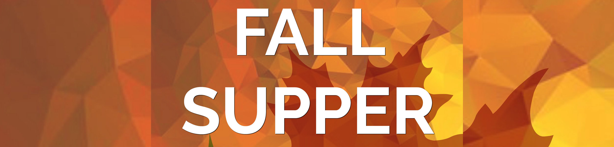 Join us for the Fall Supper